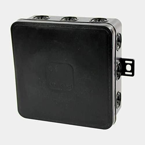Abzweigdose V7 Set 10 Stück Verteilerkasten IP54 Schwarz