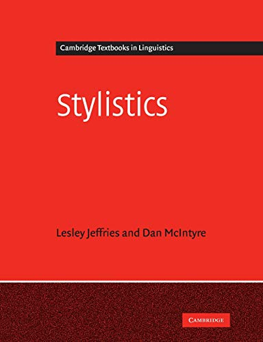Stylistics (Cambridge Textbooks in Linguistics)
