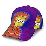 Dfhrtgre Simpsons Baseball Cap Herren Damen Washed