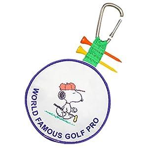 ライト(LITE) SNOOPY GOLF スヌーピーゴルフ ティーホルダー付 ボールケース BCスヌーピーゴルフPro ウッドティー2本付 C-93