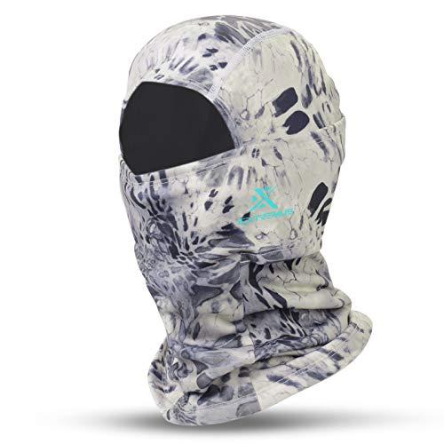 Extremus IceKap Balaclava Cold Weather Face Mask – Winter Windproof Ski Mask - Silver Mist