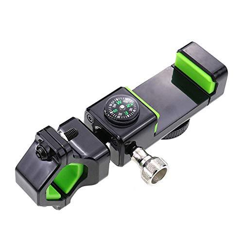 Flyuzi Soporte de teléfono GPS de la Motocicleta 20-30 mm Manillar Universal para Bicicleta de Suciedad de Scooter de Bicicletas Adecuado para la mayoría de los Modelos de Motocicletas