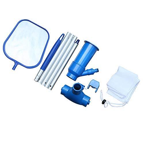 Kit de Limpieza de Piscinas Herramientas de Limpieza de Mantenimiento de rociadores de vacío para Piscinas