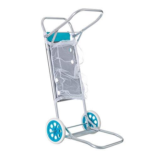 Carro portasillas Plegable para Camping y Playa (Aluminio)