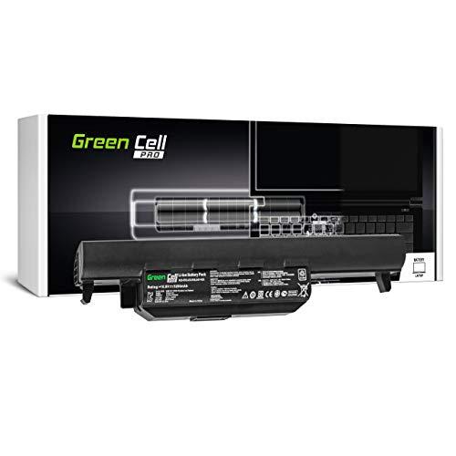 Green Cell Pro Batería para ASUS F45C F45U F55 F55A F55C F55CR F55U F55V F55VD F55VDR F75 F75A F75A1 F75V F75VB F75VC F75VD F75VD1 K45 K45DR K45DR-VX007D Portátil (5200mAh 10.8V Negro)