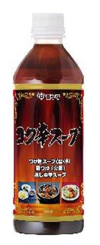 ヒゲタ 味名人コク辛スープ 500ml /キッコーマン(3本)