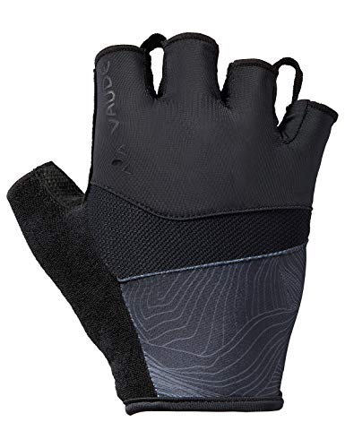 VAUDE Herren Advanced Gloves II Kurzfinger-Radhandschuh, black, 8, 413750100800