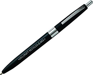 Skilcraft 7520013861604 Recycled Ball Point Pen, Medium Point, Black Ink, 12-Pack