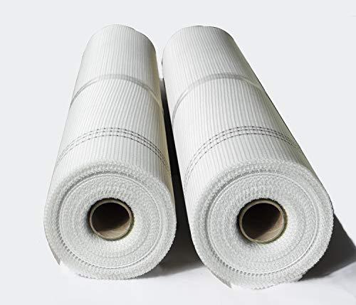 1 Rolle 165 g/m² 5x5mm 50m² Putzgewebe Gewebe Glasfasergewebe Putz Glasfaser