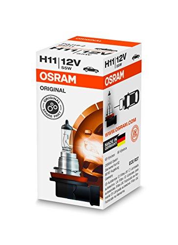 Osram 64211 Lámpara Halogen PGJ19-2 12V 55W H11, Halogenweiß