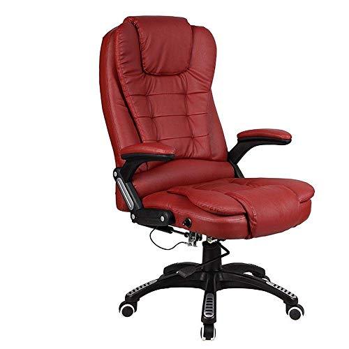 N/Z Tägliche Ausstattung Büromöbel Bürostuhl Ledersessel mit hoher Rückenlehne/Schreibtischstuhl (Farbe: Beige)