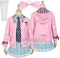 ボーカロイド ミク-Project DIVA- f はつね ミク MIKU リボンガール 制服 アニメキャラ コスプレ 衣装 風