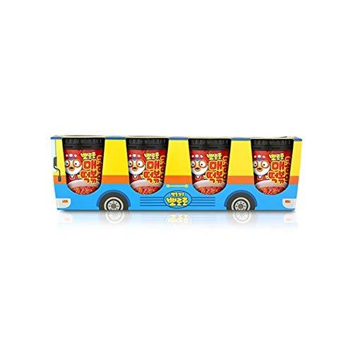 Pororo Pastel de arroz paquete de copa de autobús, , Coreano Tteokbokki...