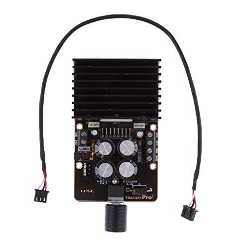 IPOTCH TDA7377 2x30W Placa de Amplificador de Coche Digital 2 Canales de Potencia Estéreo 12V Clase AB