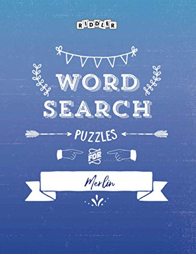 Word Search Puzzles for Merlin