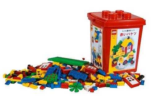レゴ (LEGO) 基本セット 赤いバケツ 4244