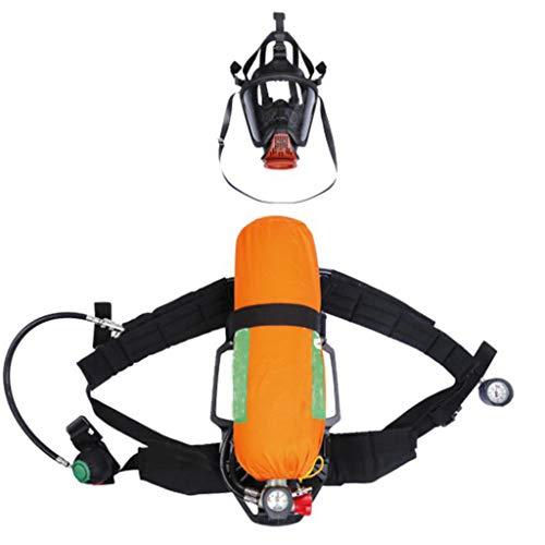 Maske Sauerstoffbehälter, Durable Überdruck Luft Atem Medium Speed-On Kopfharness Leicht BTIC Stealth Carbon-Zylinder Mit Easy-Freigabe Friction Schnallen