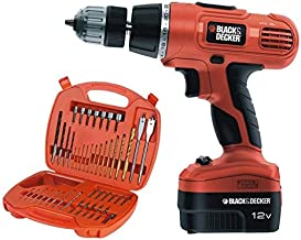 Black & Decker 12V Impact Drill 50pc Bit Set