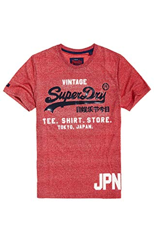 T-shirt da uomo Superdry BIANCO TOKYO CITY