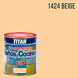 TITAN - ESMALTE AZULEJO BEIGE SATINADO 750ML