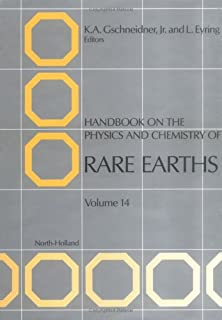 Handbook on the Physics and Chemistry of Rare Earths (Volume 14)