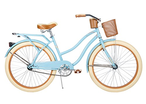 Huffy 26' Nel Lusso Women's Cruiser Bike (Women's, Gloss Blue) (Gloss...