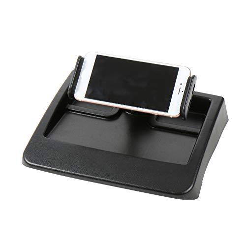 KKmoon - Soporte giratorio para tablet de coche, soporte para salpicadero de coche, soporte para teléfono móvil, soporte giratorio para Jeep Wrangler JK 2007-2011