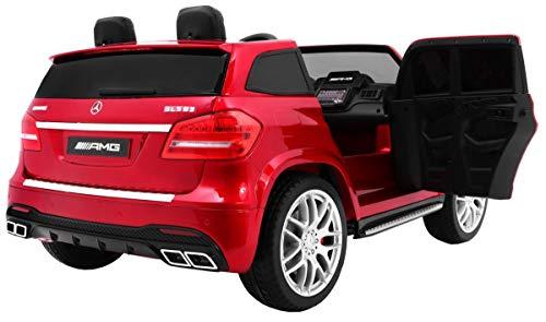 RC Auto kaufen Kinderauto Bild 3: Kinderauto Elektroauto Kinderfahrzeug Spielzeug Elektrofahrzeuge - Mercedes Benz GLS 63 AMG 4WD 2-Sitzer - Rot Lackiert*