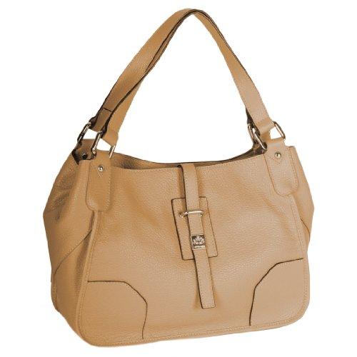 Handtasche MALAGA cappucino - (MALAGA 6, CAPPUC)