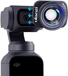 【2020新版】Ulanzi DJI Osmo Pocket1/2用 広角レンズ 0.6倍 マグネット式 オスモポケット 広角コンバージョンレンズ Vlog 自撮り レンズ 撮影用 磁気 光学 軽量 アクションカメラアクセサリ