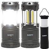 GERTY(ガーティ) LED ランタン + 2WAY LEDハンディ ライト 3個セット