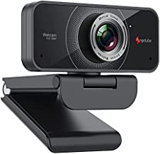 Angetube 1080P Webcam with Microphone - USB Computer Camera for Laptop/Desktop/Mac - HD PC Web Cam for Streaming | Video Conferencing | Calling