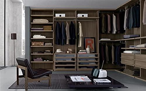 LIXUDECO Armario de ropa Walk-in closet para dormitorio