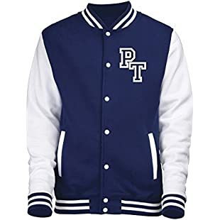 FRONT INITIAL STEP PERSONALISATION VARSITY JACKET (X LARGE - Oxford Navy / White) NEW PREMIUM Unisex American Style Letterman College Baseball Custom Top Mens Womens Ladies Gift Present Quality AWD Soulstar Omega Bomber Personalise By 123t:Donald-trump