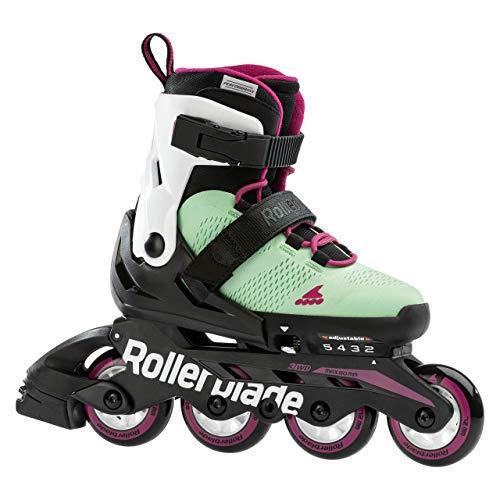 Rollerblade Mädchen Arrow Sc G Walking-Schuh, Verde Cenere/Lampone
