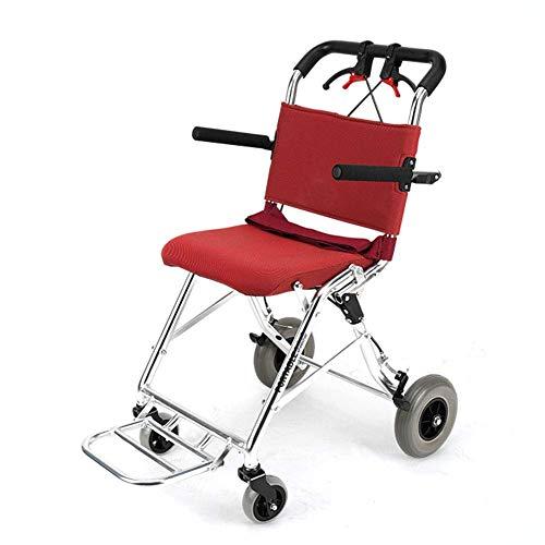 OSL Rollstuhl-Folding Leichte High-Density-Schwamm Aufzug Armlehne Rollstuhl Komfortablem Geeignet Für Behinderte Ältere sich ausruhen OSL