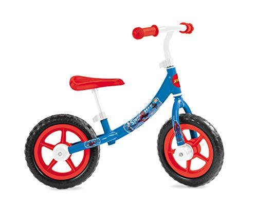 Mondo Toys Spiderman Balance Bike - Bicicleta sin Pedales pa