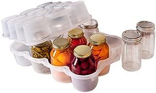 JarBox Canning Jar, Quart, Semi-Clear