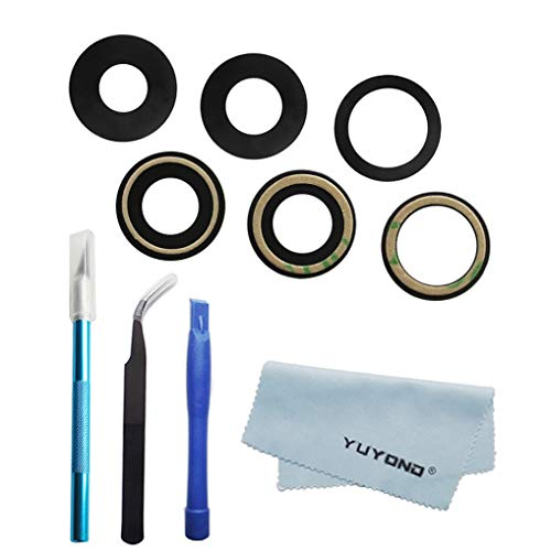 YUYOND 3pcs OEM Original Rear Camera Glass Lens Replacement for iPhone 12 Pro Max 67 Inch Adhesive Preinstalled with Tools Kit and Clean Cloth Not for iPhone 12 12 Mini Not for iPhone 12 Pro