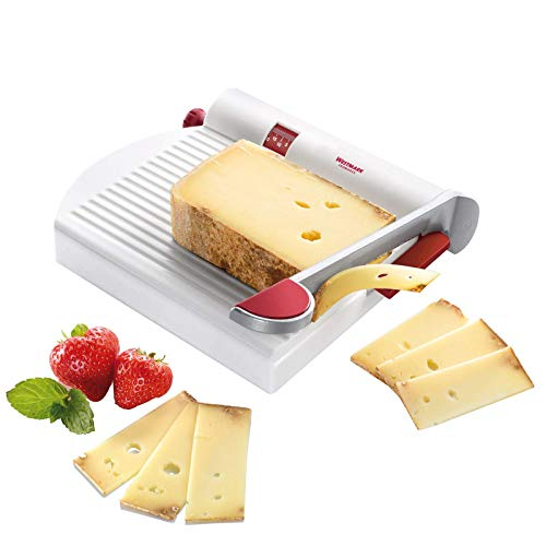 Westmark Germany Multipurpose Stainless Steel Cheese and Food Slicer with Board and...