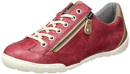 MUSTANG Damen 1314-304-55 Sneaker, Rot (Bordeaux 55), 38 EU