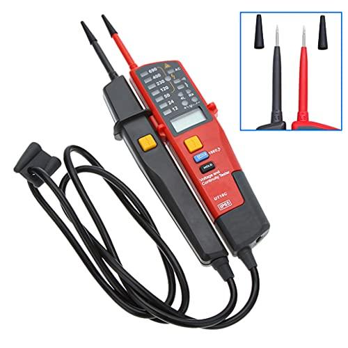 Spannungstester und Durchgangsprüfer UT18C LCD-Anzeigen Auomatishce Voltage Meter Voltmeter Spannung Tester 12V~690V AC/DC Digital Reichweite Selbstinspektion