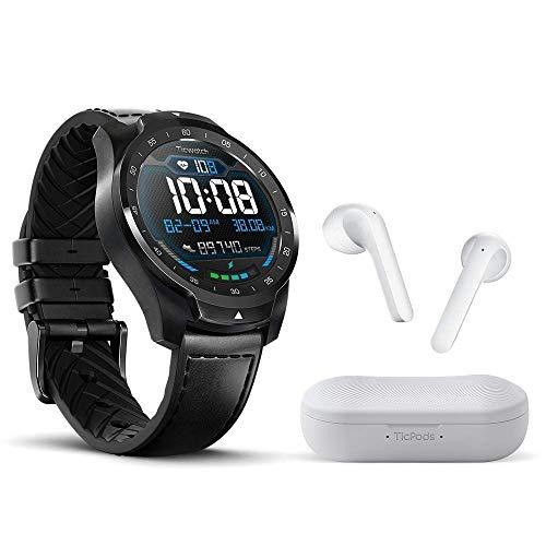 Ticwatch Pro 2020 Smartwatch + TicPods 2 True Wireless Earbuds