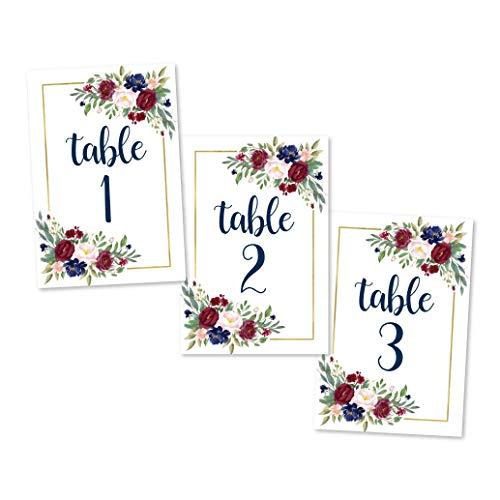 soporte numero de mesa fabricante Hadley Designs