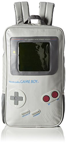 Nintendo Game Boy Shaped School Backpack, 42 cm, White