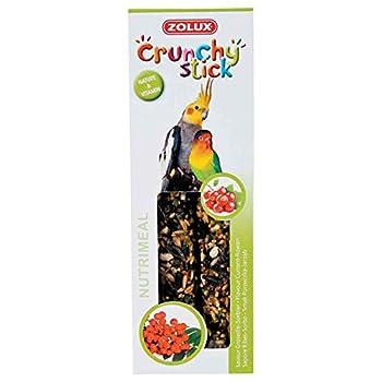 Zolux Crunchy Stick Friandise pour Grandes Perruches Groseille/Sorbier 115 g