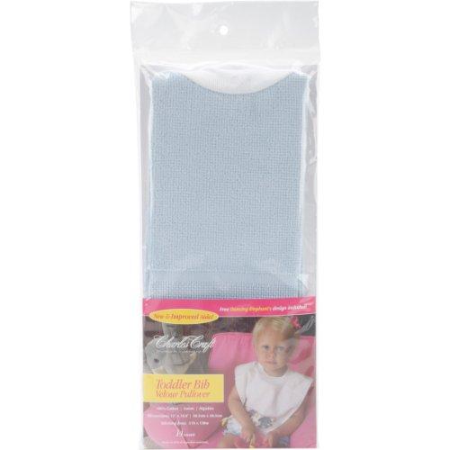 DMC pour Enfant en Velours pour Femme Bavoir 14 de 30,5 cm x 19.5-inchpowder Bleu, d'autres, Multicolore