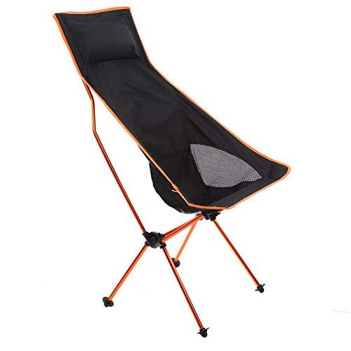 Pwshymi Non-slip Camping Chair Durable Fishing Seat for Beach