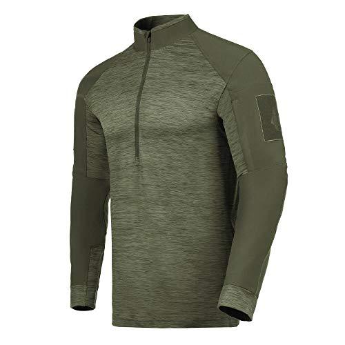 Camisa de Combate Invictus Hawk 2.0 Verde Oliva - Verde - P