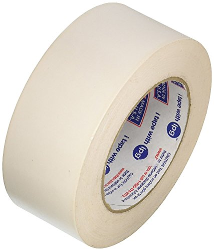 """Intertape Polymer Group 76196 1.88"""" X 36 Yards White Double-Sided Indoor Carpet Tape"""